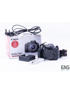 Canon EOS 700D 24.2MP DSLR Digital Camera Astronomy Modded