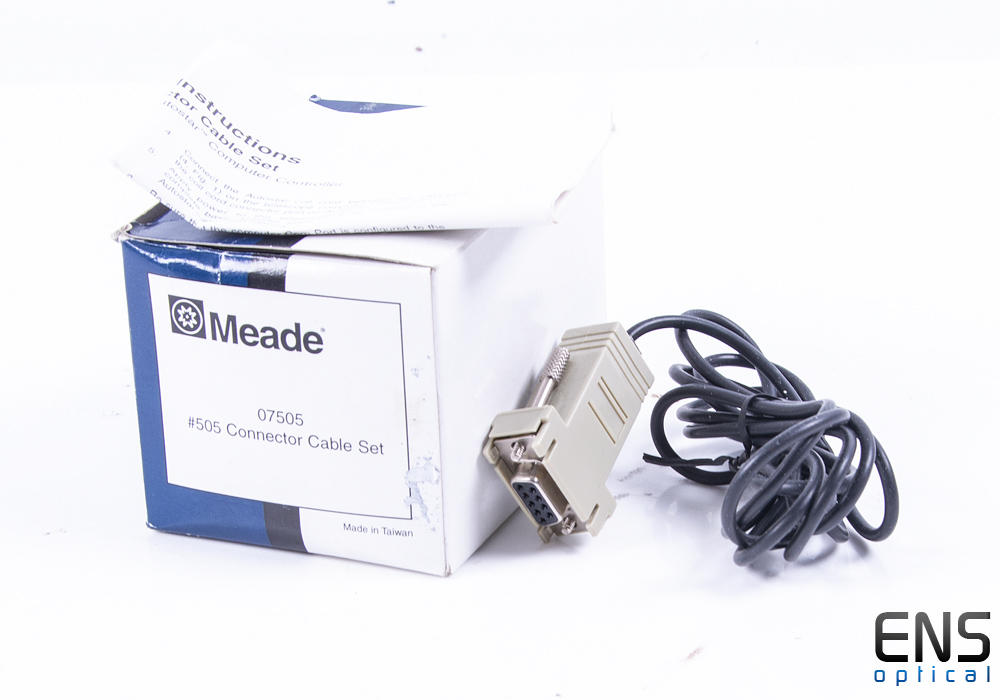 Meade #505 Serial Connector Cable - Boxed