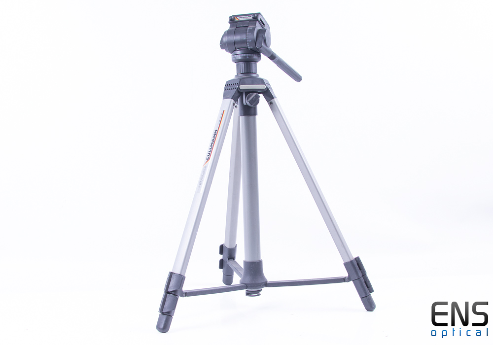 Cullmann 3200 Universal Video Tripod with 3010 2-Way Fluid-Effect Head