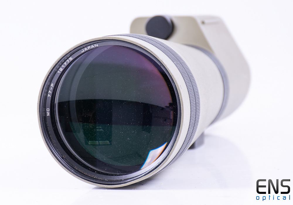 Kowa TSN-2 77mm Straight Spotting Scope  30x Wide Angle Eyepiece & Case