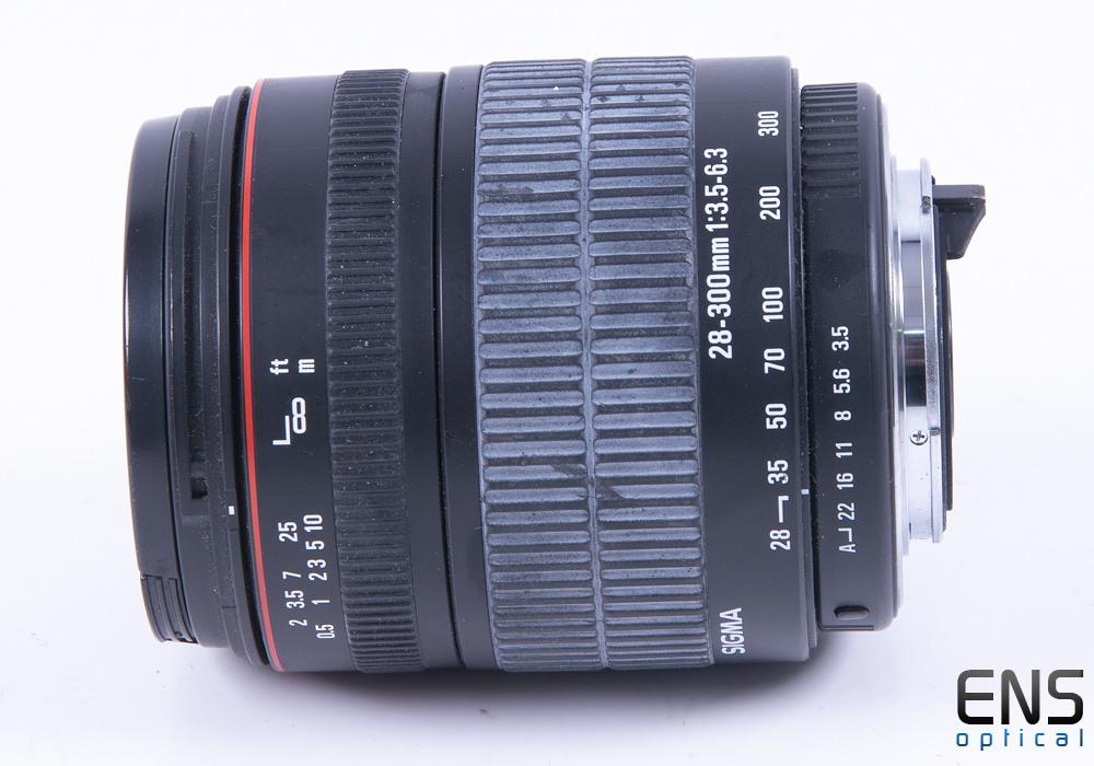 Sigma 28-300mm f/3.5-6.3 PK AF DL Macro Zoom Lens - 1006151