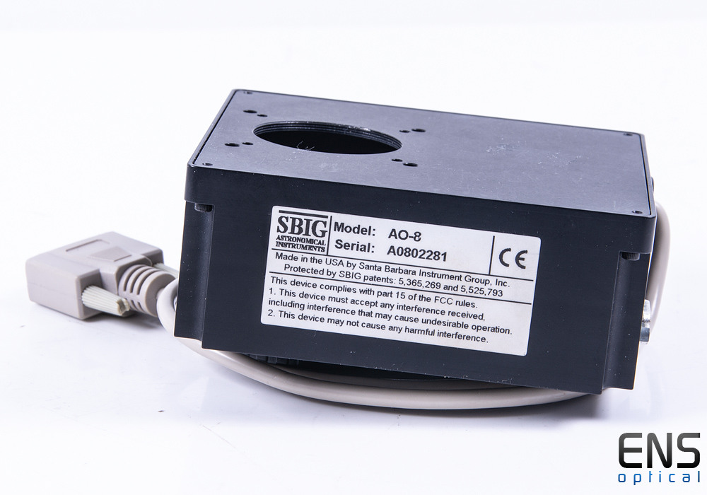 S-Big AO-8 Active Optics unit for ST Cameras SBIG