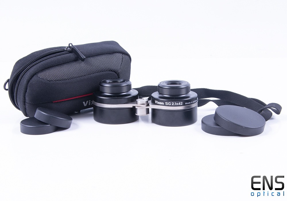 Vixen SG 2.1x42 Widefield Binoculars - Mint with Case