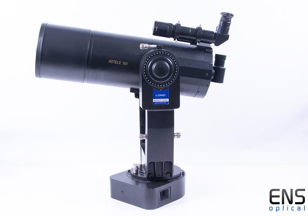 "Lomo Astelle 150 6"" F/14.2 Maksutov-Cassegrain Telescope Fork Mount Slo-Mo"