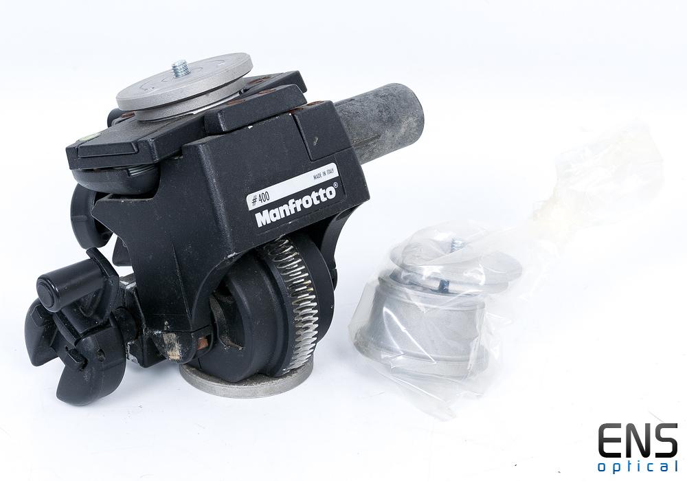 Manfrotto 400 Series Precision Geared Head 10KG Capacity