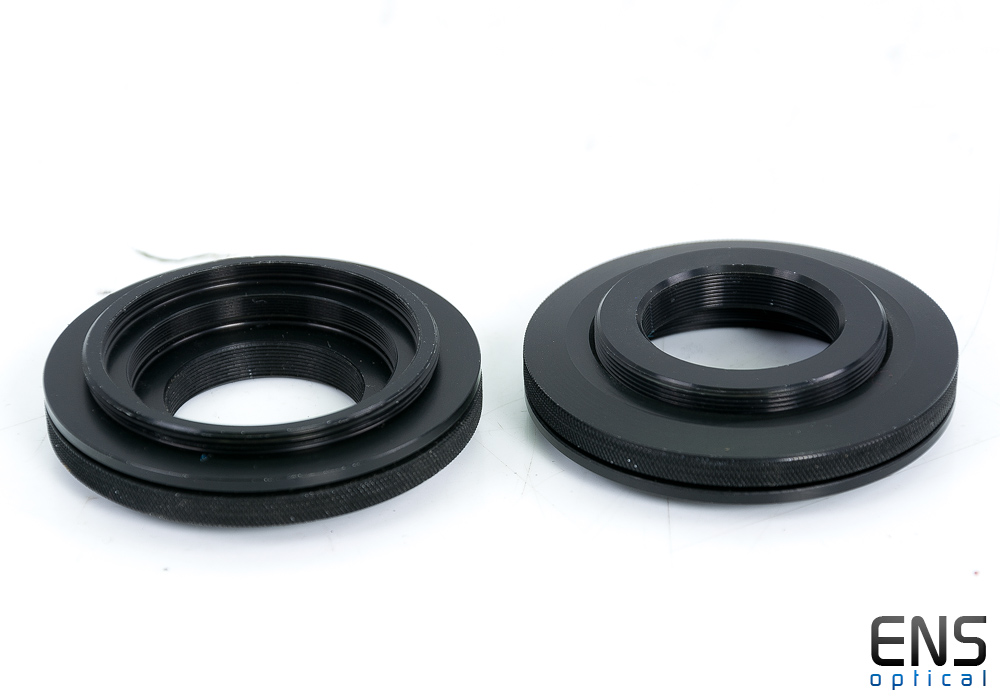 Trutek SCT male to T2 male Camera adapter with Locking Ring