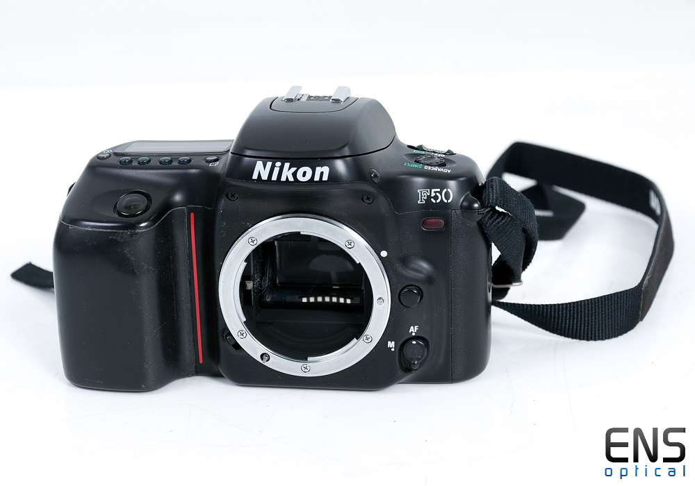 Nikon F50 35mm Film Camera Body Only - JAPAN -Good condition