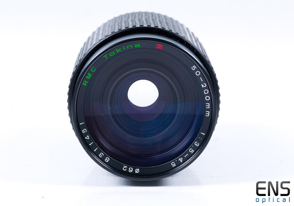 Tokina 50-200mm f/3.5-4.5 RMC Tele Zoom Lens - 8311451 JAPAN