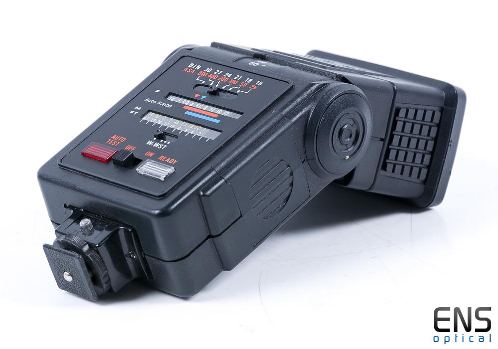 Hanimex Tz1 Zoom Tilt Head Electronic Flash Gun