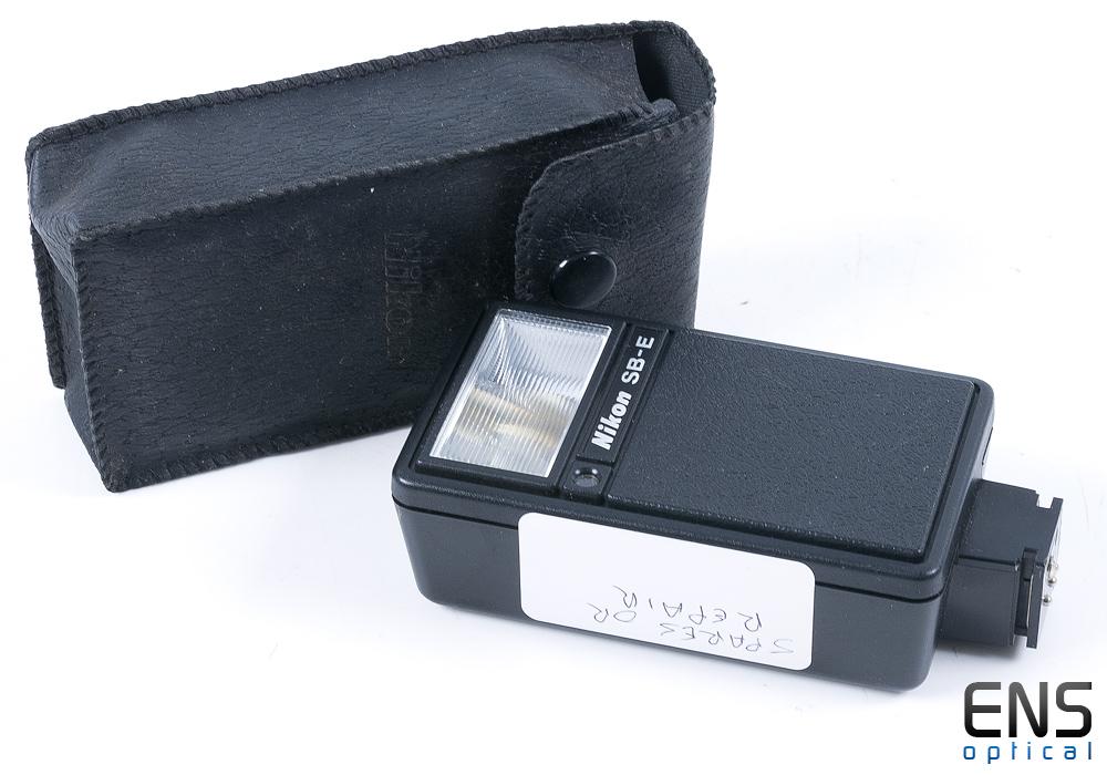 Japanese Nikon Speedlight SB-E - Spares