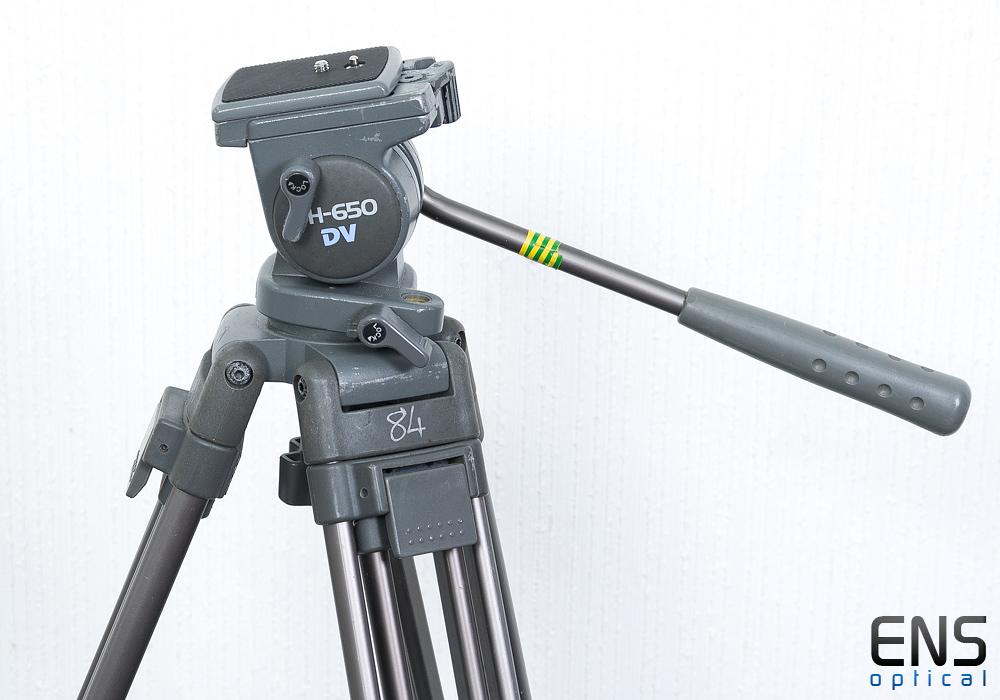 Libec TH-650 Photographic tripod and head - Super Quality 1